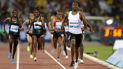 Semenya wins at Diamond League in Doha despite IAAF regulations controversy