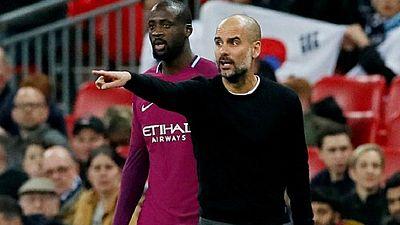Yaya Toure to leave Man City, says Guardiola