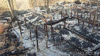 """Burkina : deux """"terroristes"""" arrêtés après l'incendie d'une école"""