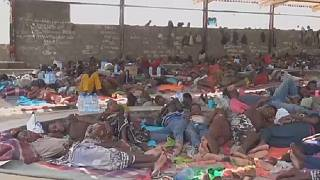 Overcrowded migrant centre in Libya is 'inhumane' - MSF