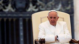 Le pape François appelle la Centrafrique à rejeter la violence