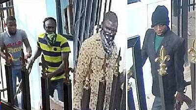 Nigeria police reveal faces of wanted bank robbery masterminds