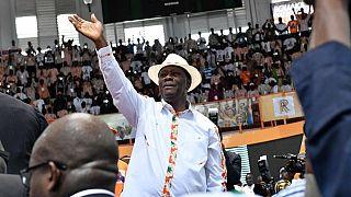 Le président ivoirien propose un parti unifié pour 2020