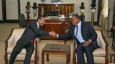 Le premier ministre éthiopien en visite au kenya