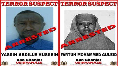 Kenya : arrestation d'un couple soupçonné de financer les terroristes (médias)