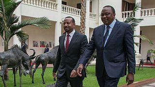 Ethiopia, Kenya leaders vow to pursue peace in Somalia, South Sudan