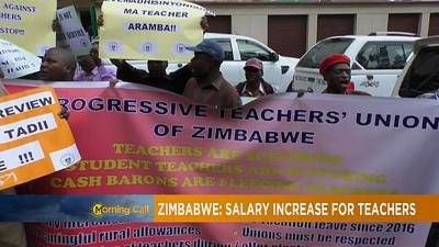 10 percent salary increase for Zimbabwe's teachers [The Morning Call]