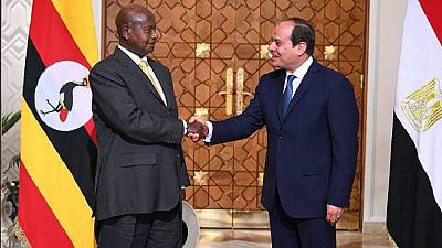 Water politics: Museveni invites Egypt's president to visit source of the Nile