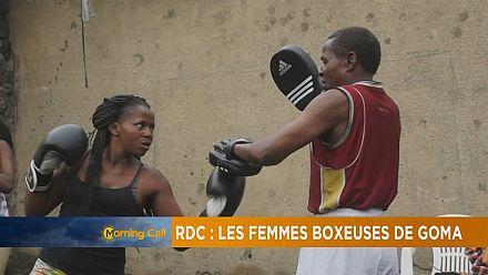 RDC : à Goma des jeunes filles s'essayent à la boxe [The Morning Call]