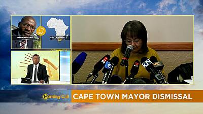 Divisions in S'Africa's DA party over Cape Town mayor's sack