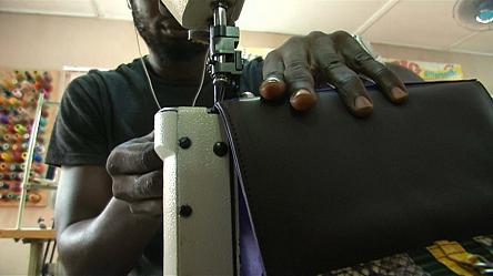 Designer pushes Nigerians to revive and promote local leather industry [no comment]