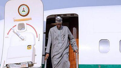 Nigeria : Buhari revient au pays après un séjour sanitaire au Royaume-Uni