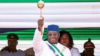 Sierra Leone- prestation de serment : le président appelle à la gratuité de l'éducation