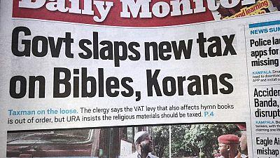 Ouganda: la taxe sur la Bible et le Coran agace les religieux