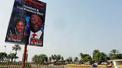Liberia : premières étincelles entre George Weah et sa vice-présidente