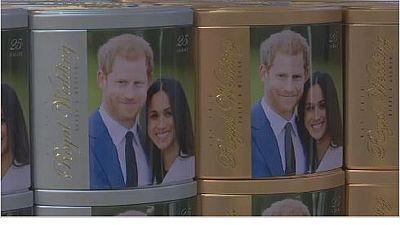 Londres paré pour le mariage princier