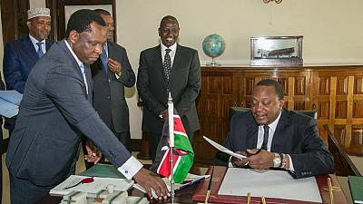 Kenyan leader signs cybercrimes bill into law