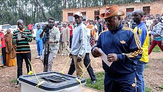 [Photos] Sporty Nkurunziza votes in controversial Burundi referendum