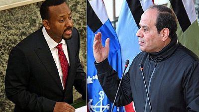 Sisi invites Ethiopian PM to Egypt to settle Nile dam dispute