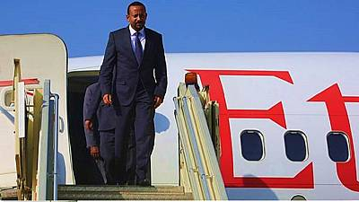 Ethiopia PM in Saudi Arabia, first official trip outside Africa
