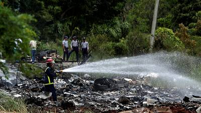 Black box found in Cuba plane crash