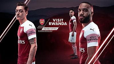 Rwanda becomes Arsenal's first sleeve sponsor in 3 year partnership