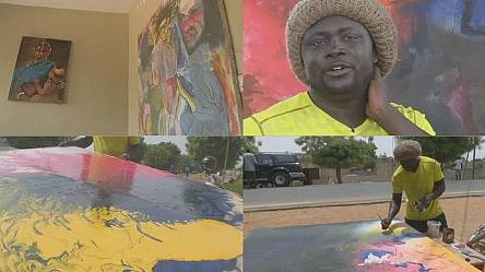 Senegal's art Biennale takes contemporary art to the people [no comment]