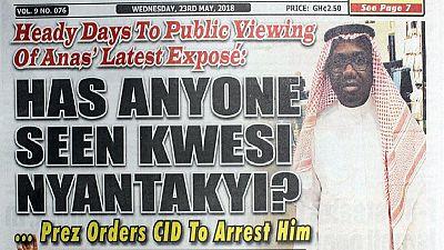 Ghana police grants embattled football chief bail amid corruption probe