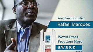 Angolan journalist Rafael Marques named 'World Press Freedom Hero'