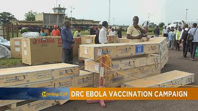 Ebola vaccination campaign begins in DRC