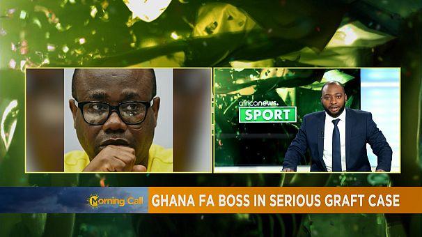Ghana FA Boss Nyantakyi on the spot on graft [Sport]