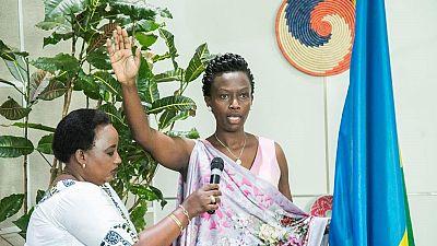 Marie-Chantal Rwakazina elected mayor of Rwanda's capital Kigali