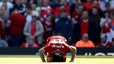 Mohamed Salah leaves Champions League final in tears after injury; watch video