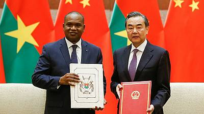 Burkina Faso resumes ties with China after Taiwan break