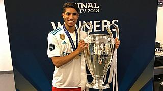 Achraf Hakimi: Moroccan makes history with Real Madrid's UCL victory
