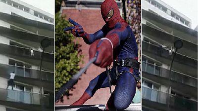 Malian 'spider-man' who rescued baby on Paris balcony meets Macron
