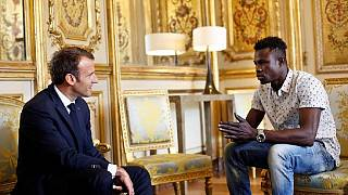 [Photos] Mali 'spider-man' meets Macron: Lands job and French citizenship