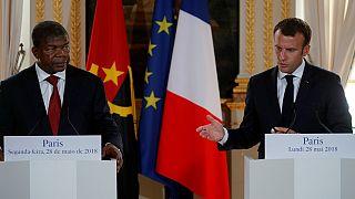 Joao Lourenço en France - une visite marquée par la crise politique en RDC