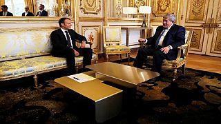 Crise libyenne : Macron discute avec les principaux acteurs