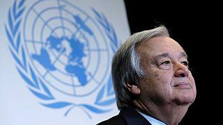 Le secrétaire général de l'ONU au Mali pour la Journée des Casques bleus