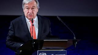 UN chief Guterres marks International Day of Peacekeepers with MINUSMA troops