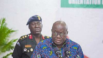 Ghana's Akufo Addo says plans are underway to make country food self-sufficient