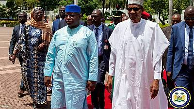 [Photos] Buhari hosts Sierra Leone's president, discuss security and bilateral relations