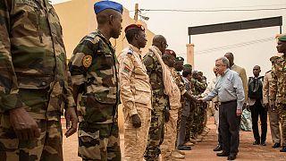 UN chief visits G5 Sahel Force in Mopti, pledges support