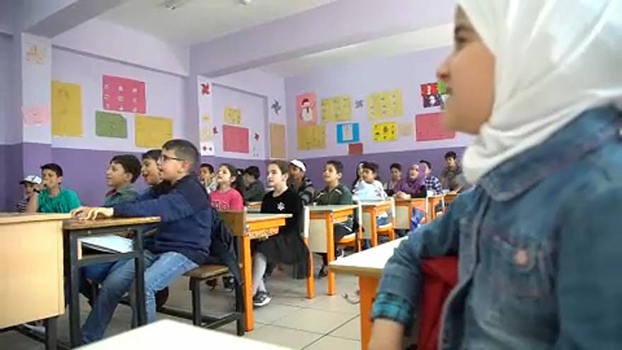 Türkiye'deki Suriyeli çocukların okula gitmesi için çabalar sürüyor