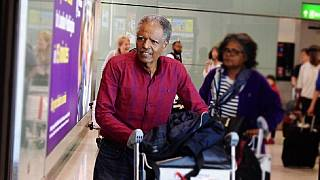 [Photos] Andargachew returns to U.K. after Ethiopia death row pardon