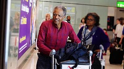 [Photos] Andargachew returns to U.K. after Ethiopia death row pardon