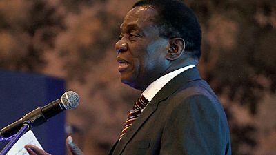 Zimbabwe's Mnangagwa tells investors ZANU-PF will remain in power