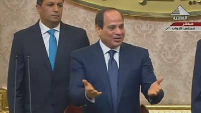 Egyptian president Sisi sworn in for second term