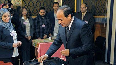 Egypte : Sissi a prêté serment pour un 2e mandat de quatre ans